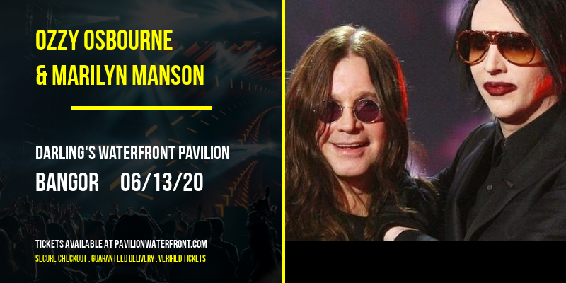 Ozzy Osbourne & Marilyn Manson at Darling's Waterfront Pavilion