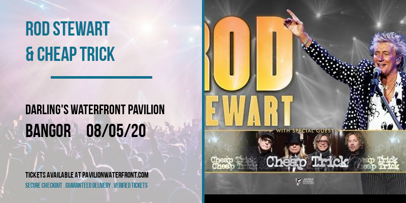 Rod Stewart & Cheap Trick at Darling's Waterfront Pavilion